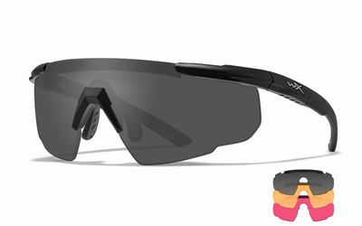 WileyX zonnebril - SABER ADVANCED, 3 glazen / mat zw frame