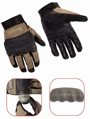 HYBRID Flame Resistant removable nuckle gloves, coyote