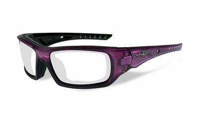 ARROW Frame Crystal Plum, zwarte lijntjes - LAATSTE