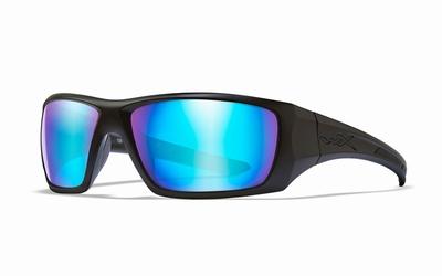 WileyX zonnebril - NASH, pol. blue mirror / mat zwart frame