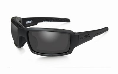 WileyX zonnebril - TITAN, smoke grey / mat black