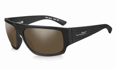 WileyX zonnebril - VALLUS, pol. amber glas / mat zwart frame