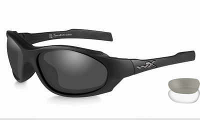 WileyX - XL-1 Advanced COMM, grey-clear lenses / mat zw. fr.