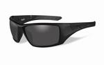 WileyX zonnebril - NASH, smoke grey lenzen, mat zwart frame