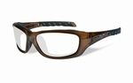 WileyX GRAVITY brown crystal frame