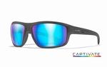 WileyX zonnebril - CONTEND Captivate blue mirror / graphite