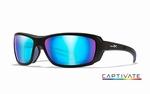 WileyX zonnebril - WAVE, Captivate Smoke grey / mat zwrt frm