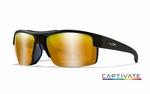 WileyX zonnebril - COMPASS, Captivate bronze / mat zwart frm