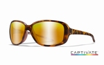 WileyX zonnebril - AFFINITY, Captivate bronze / mat demi