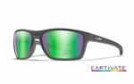 WileyX zonnebril - KINGPIN, Captivate green / graphite frame