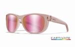 WileyX zonnebril - WEEKENDER, Captivate pol. rose blush