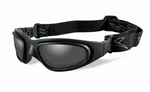 WileyX zonnebril SG-1 (goggle) met smoke grey lenzen