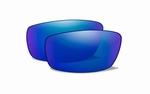 WileyX GRAVITY Groene gepolariseerde glazen met blue mirror