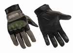CAG-1 Flame Resistant combat gloves, foliage green (groen)