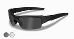 WileyX zonnebril - VALOR, smoke grey/clear, matte blk frame