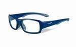 Wiley X stevige kinder sportbril - FIERCE, blauw/grijs