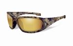 WileyX zonnebril - BOSS Pol. Amber,Gold Mirror / Kryptek frm