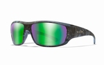 WileyX zonnebril - OMEGA pol. emerald mirror / kryptek frame
