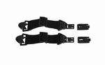 WileyX SPEAR (goggle)  ARC Rail Attachment System - Zwart