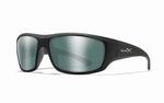 WileyX zonnebril - OMEGA pol. green platinum mirror / mat zw