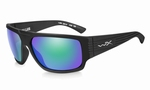 WileyX zonnebril - VALLUS, pol. emerald green / mat zwart