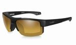WileyX zonnebril - COMPASS, pol venice goud/ mat zwart frame