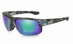 WileyX zonnebril - COMPASS, pol. emerald / kryptec neptune