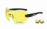 WileyX schietbril - DETECTION, clear-yellow-copper/mat blk
